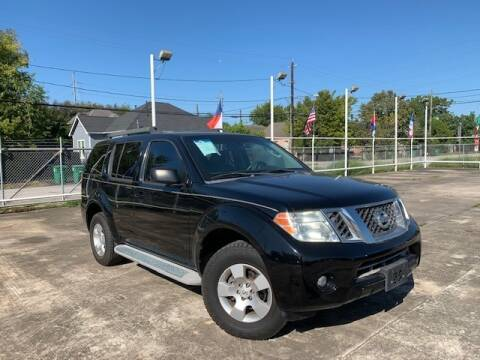 2010 Nissan Pathfinder for sale at Sam's Auto Sales in Houston TX