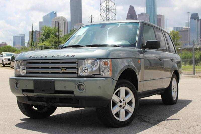 2005 land rover range rover hse 4wd 4dr suv in houston tx sam 39 s auto sales. Black Bedroom Furniture Sets. Home Design Ideas