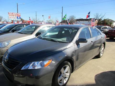 2009 Toyota Camry for sale at Sam's Auto Sales in Houston TX