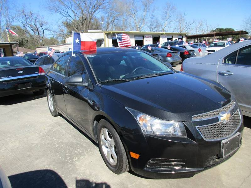2014 Chevrolet Cruze for sale at Sam's Auto Sales in Houston TX