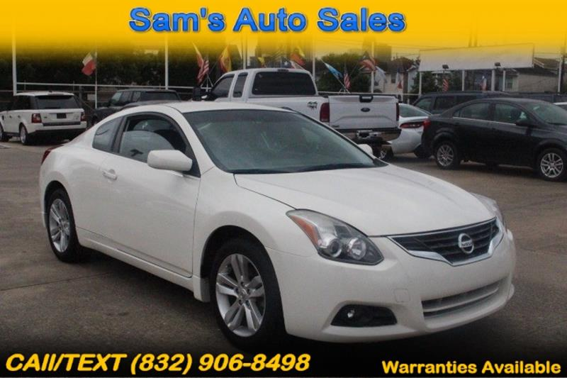 2012 Nissan Altima For Sale At Samu0027s Auto Sales In Houston TX