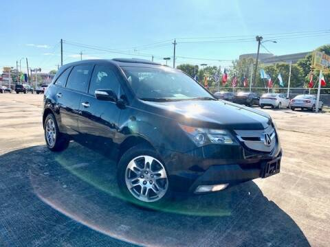 2009 Acura MDX for sale at Sam's Auto Sales in Houston TX