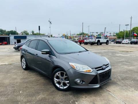 2012 Ford Focus for sale at Sam's Auto Sales in Houston TX