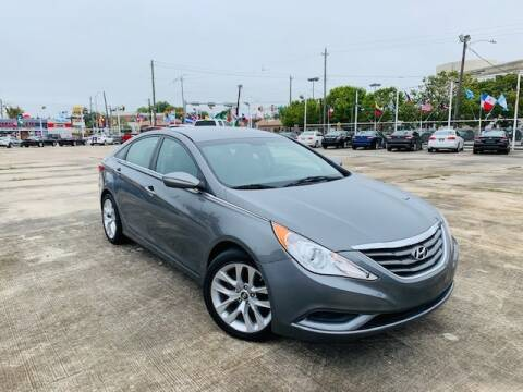 2013 Hyundai Sonata for sale at Sam's Auto Sales in Houston TX