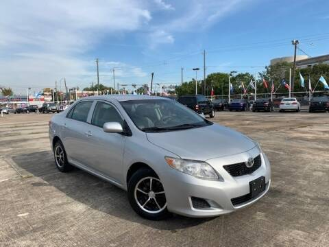 2010 Toyota Corolla for sale at Sam's Auto Sales in Houston TX