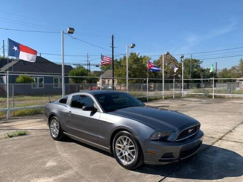 2014 Ford Mustang for sale at Sam's Auto Sales in Houston TX