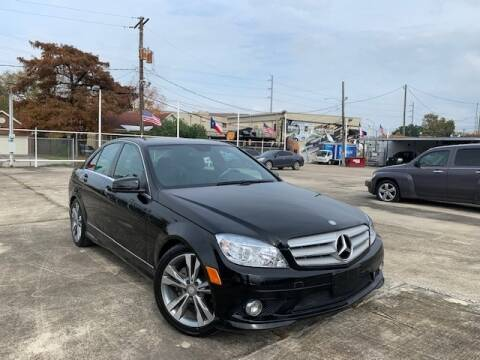 2010 Mercedes-Benz C-Class for sale at Sam's Auto Sales in Houston TX