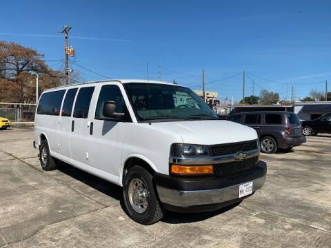 2013 Chevrolet Express Passenger for sale at Sam's Auto Sales in Houston TX