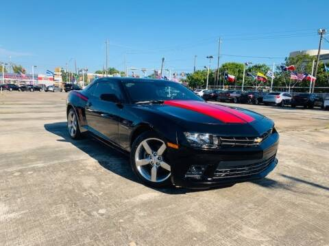 2015 Chevrolet Camaro for sale at Sam's Auto Sales in Houston TX