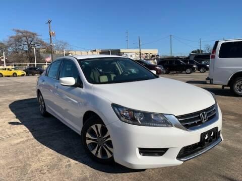 2015 Honda Accord for sale at Sam's Auto Sales in Houston TX
