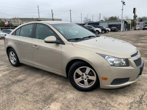 2012 Chevrolet Cruze for sale at Sam's Auto Sales in Houston TX
