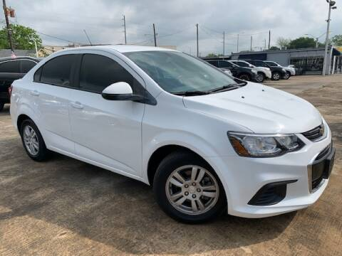 2019 Chevrolet Sonic for sale at Sam's Auto Sales in Houston TX