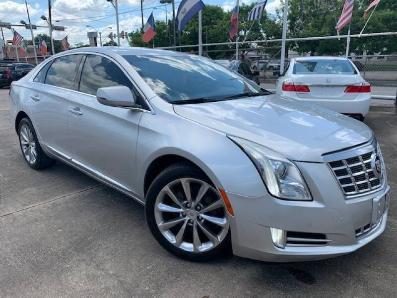 2013 Cadillac XTS for sale at Sam's Auto Sales in Houston TX