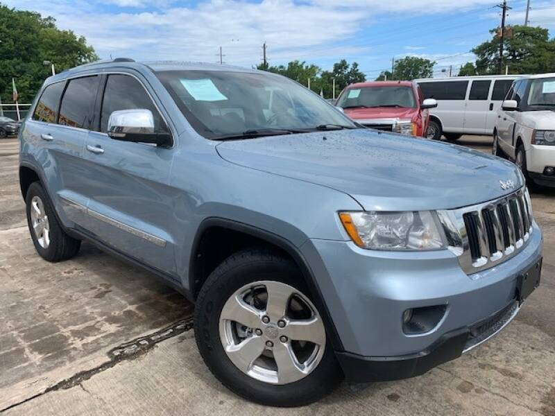 2012 Jeep Grand Cherokee for sale at Sam's Auto Sales in Houston TX