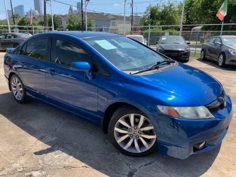 2011 Honda Civic for sale at Sam's Auto Sales in Houston TX
