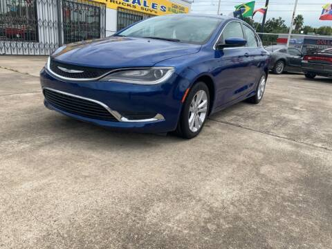 2015 Chrysler 200 for sale at Sam's Auto Sales in Houston TX