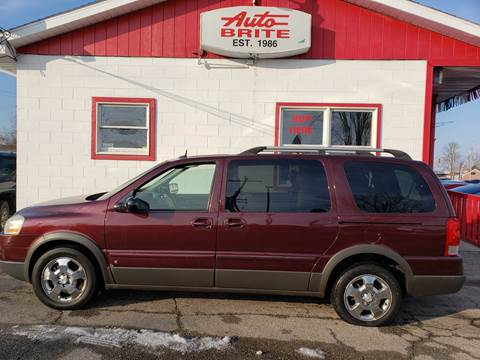 2007 Pontiac Montana for sale in Saginaw, MI