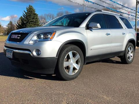 2010 GMC Acadia for sale in Cambridge, MN
