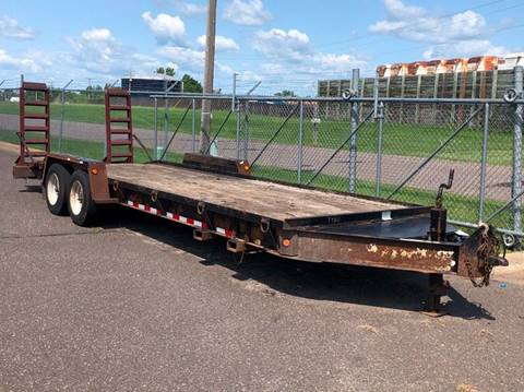 2005 TOWMASTER BOBCAT TRAILER for sale in Cambridge, MN