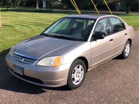 2001 Honda Civic for sale in Cambridge, MN