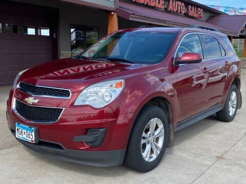 2011 Chevrolet Equinox LT for sale at Affordable Auto Sales in Cambridge MN