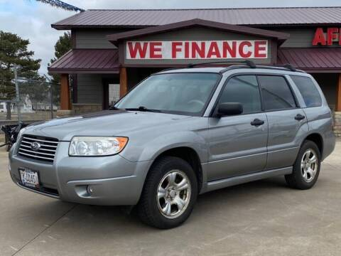 2007 Subaru Forester 2.5 X for sale at Affordable Auto Sales in Cambridge MN