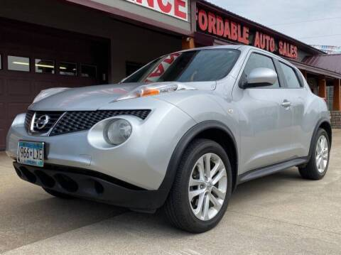 2013 Nissan JUKE SV for sale at Affordable Auto Sales in Cambridge MN