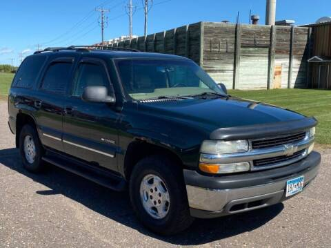 2003 Chevrolet Tahoe for sale at Affordable Auto Sales in Cambridge MN
