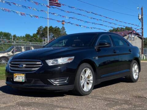 2013 Ford Taurus for sale at Affordable Auto Sales in Cambridge MN