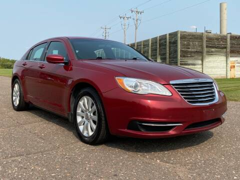 2014 Chrysler 200 for sale at Affordable Auto Sales in Cambridge MN