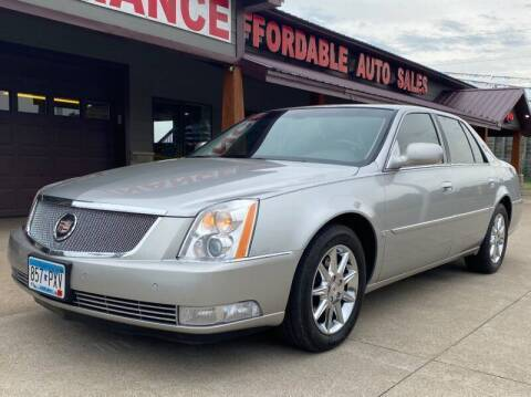 2008 Cadillac DTS for sale at Affordable Auto Sales in Cambridge MN