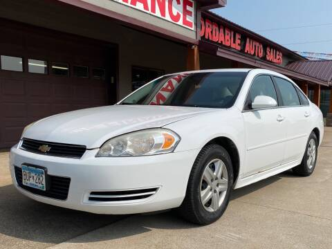2010 Chevrolet Impala for sale at Affordable Auto Sales in Cambridge MN