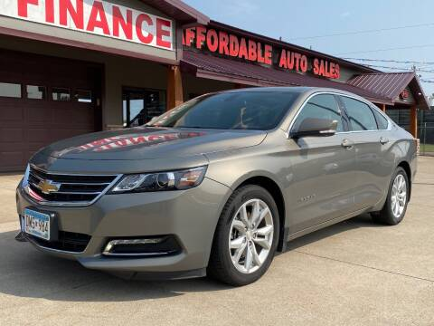 2019 Chevrolet Impala for sale at Affordable Auto Sales in Cambridge MN