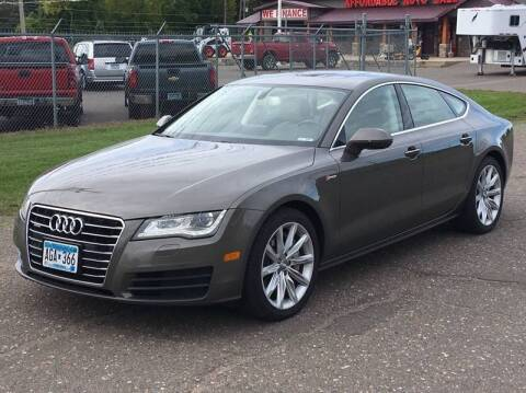 2013 Audi A7 for sale at Affordable Auto Sales in Cambridge MN