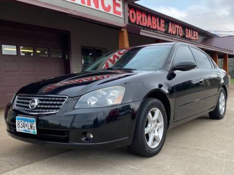 2005 Nissan Altima for sale at Affordable Auto Sales in Cambridge MN
