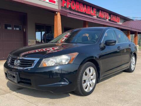 2008 Honda Accord for sale at Affordable Auto Sales in Cambridge MN