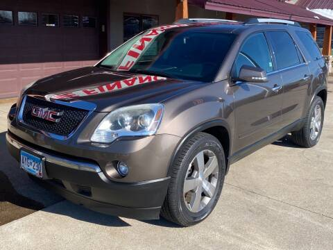 2011 GMC Acadia for sale at Affordable Auto Sales in Cambridge MN