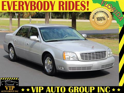 2003 Cadillac DeVille for sale in Clearwater, FL