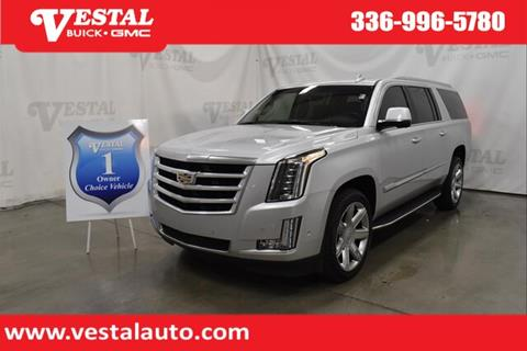 2018 Cadillac Escalade ESV for sale in Kernersville, NC