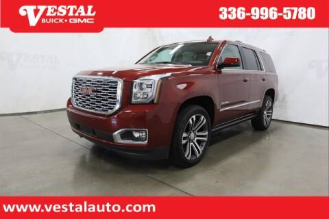 2020 GMC Yukon for sale at VESTAL BUICK GMC in Kernersville NC