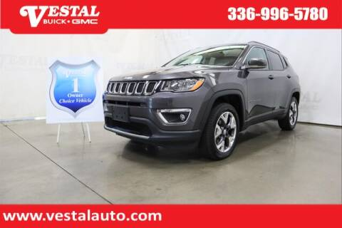 2020 Jeep Compass for sale at VESTAL BUICK GMC in Kernersville NC