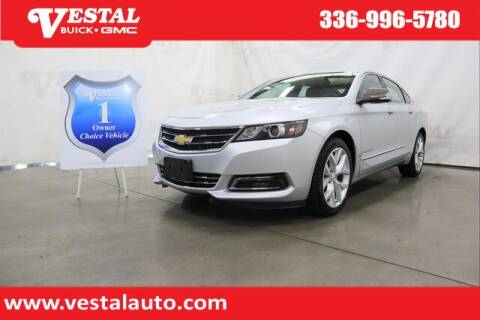 2020 Chevrolet Impala for sale at VESTAL BUICK GMC in Kernersville NC