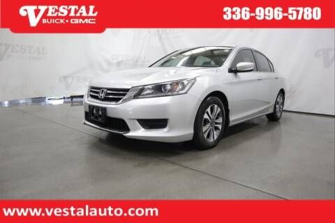 2013 Honda Accord for sale at VESTAL BUICK GMC in Kernersville NC