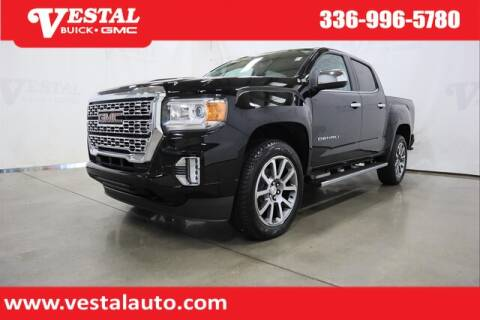 2021 GMC Canyon for sale at VESTAL BUICK GMC in Kernersville NC