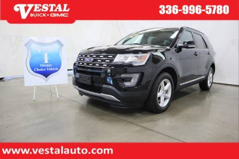2017 Ford Explorer for sale at VESTAL BUICK GMC in Kernersville NC