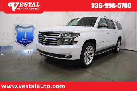 2016 Chevrolet Suburban for sale at VESTAL BUICK GMC in Kernersville NC