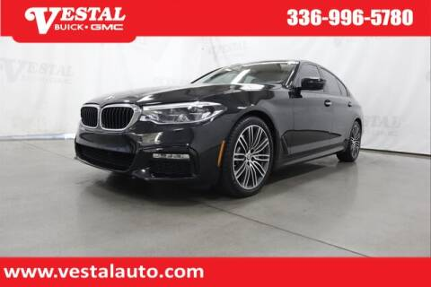 2017 BMW 5 Series for sale at VESTAL BUICK GMC in Kernersville NC