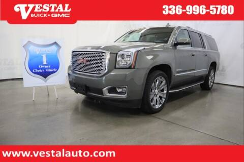 2017 GMC Yukon XL for sale at VESTAL BUICK GMC in Kernersville NC