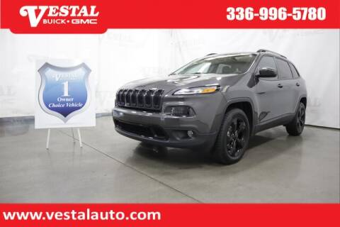 2018 Jeep Cherokee for sale at VESTAL BUICK GMC in Kernersville NC
