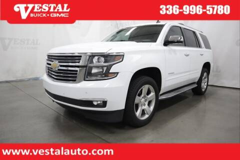 2015 Chevrolet Tahoe for sale at VESTAL BUICK GMC in Kernersville NC